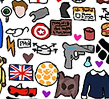The Heart of Fitzsimmons Sticker