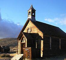 The Sermon - The Methodist Church in Bodie, CA by Cupertino