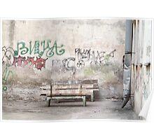 Сourt yard Poster