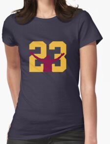 No. 23 Womens Fitted T-Shirt