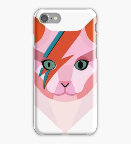 Bowie Cat iPhone Case/Skin