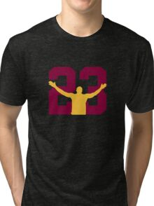 No. 23 (alternate colors) Tri-blend T-Shirt