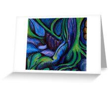 Interior landscape Greeting Card