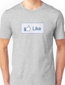 Like Button T-Shirt Unisex T-Shirt
