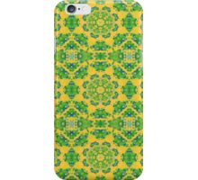 The Brightness of Yellow and Green Kalder Carpet iPhone Case/Skin