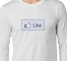Like Button Long Sleeve T-Shirt Long Sleeve T-Shirt