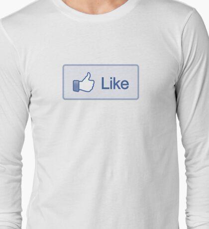 Like Button Long Sleeve T-Shirt Long Sleeve T-Shirt