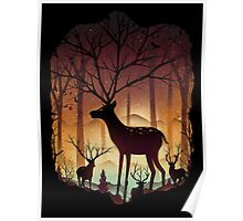 Into the Deer Woods Poster