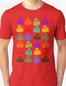Colorful Cameras T-Shirt