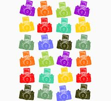 Colorful Cameras Unisex T-Shirt