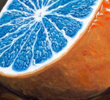 Elusive Blue Blood Orange Sticker