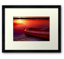 """Riverside Dawn"" Framed Print"
