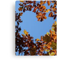 Forest Heart Canvas Print
