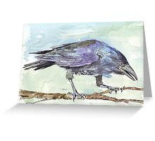 Crows are messengers Greeting Card