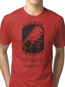 vintage radio tubes ad Tri-blend T-Shirt