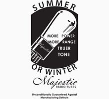 vintage radio tubes ad Unisex T-Shirt