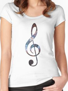 Cosmic Music Women's Fitted Scoop T-Shirt