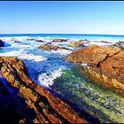 Saltwater Rocks by Tyhe  Reading