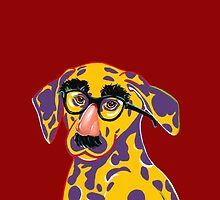 dog in disguise for phone by mkempees