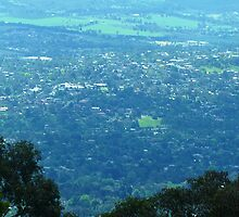 *Looking down from Mount Dandenong- Vic. Australia* by EdsMum