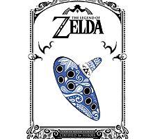Zelda legend - Ocarina of time by papadooart