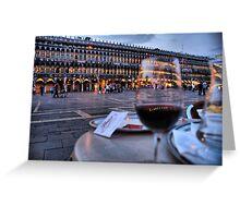 Piazza San Marco Greeting Card