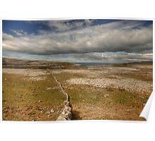 Burren View 1 Poster