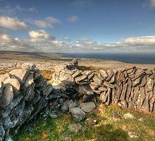Burren Stone Walls by John Quinn
