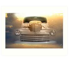 1946 Ford 2-Door Sedan  Art Print