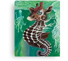 Uncle Rakota the Sea Giraffe Canvas Print
