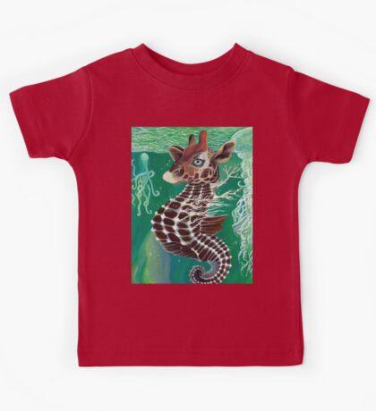 Uncle Rakota the Sea Giraffe Kids Tee