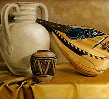 Mandolin at Rest by Patricia Howitt