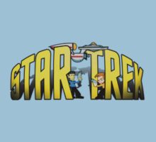 A Cute Star Trek Logo by TJDraws