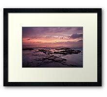 North Narrabeen Rockpools Framed Print
