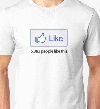 """Like Button """"Popular"""" T-Shirt Unisex T-Shirt"""