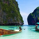 Phi Phi Island Panoramic by Paul Pichugin