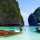 Phi Phi Island Panoramic by Paul Pichugin