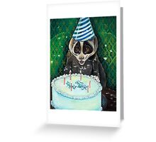 Slow Lori's Birthday Party Greeting Card