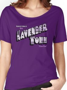 Greetings from Lavender Town Women's Relaxed Fit T-Shirt