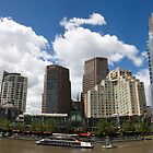 Eureka Tower and South Bank by Daniel Berends