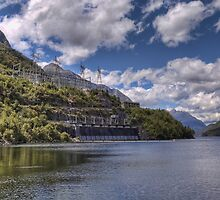 Manapouri Power Station, West Arm by Tony Burton