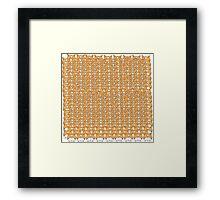 Corgi Army Framed Print