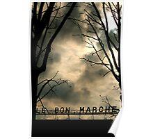 Le Bon Marché Paris France Photography on Sale Poster