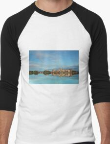 Sacre` Blue - Emerald Lakes Gold Coast Qld Australia Men's Baseball ¾ T-Shirt