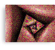 Pleating and Folding A Paper Spiral III Canvas Print