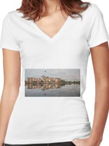The French Quarter - Gold Coast Australia Women's Fitted V-Neck T-Shirt