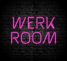 Neon Shop : Werk Room by merimeaux