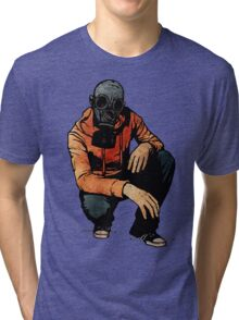 Leroy Has A Moment Of Reflection Before Returning To Battle Tri-blend T-Shirt