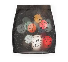 Glass, Rain and Traffic Mini Skirt