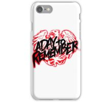 A Day To Remember Band Logo iPhone Case/Skin